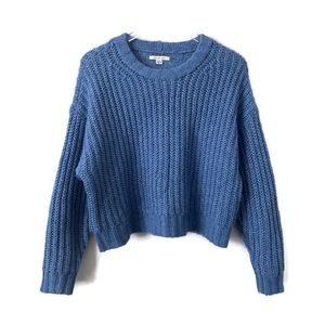 American Eagle Outfitters Blue Sweater